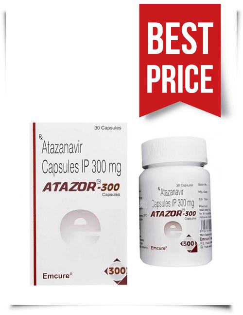 Buy Atazor Generic Reyataz Online Atazanavir 300 mg