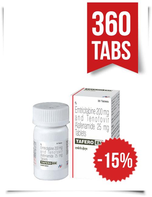 Tafero-EM by Hetero 360 Pills