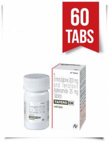 Tafero-EM by Hetero 60 Pills