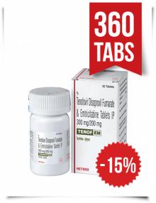 Tenof-EM by Hetero 360 Pills