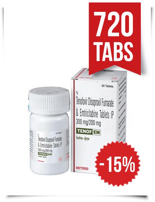 Tenof-EM by Hetero 720 Pills