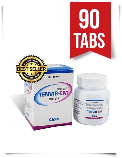 Tenvir-EM by Cipla 90 Pills