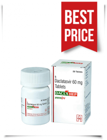 Buy Daclahep Online Cheap Indian Generic Daclatasvir