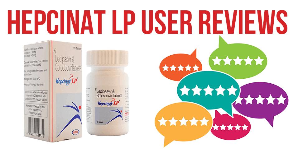 Hepcinat-LP user reviews