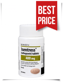 Buy Isentress Pills Online from India Generic Raltegravir