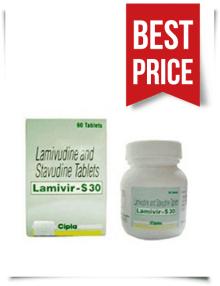 Buy Lamivir S Online Lamivudine 150mg Stavudine 30mg