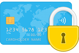 Safe Credit Card Payment Secured SSL