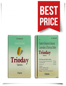 Buy Trioday Tablets from India Generic Telura Online