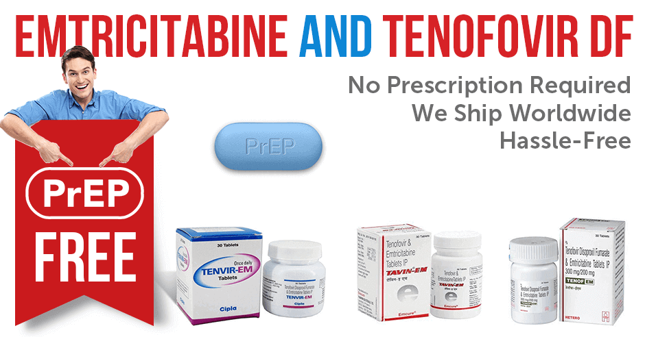 Purchase emtricitabine and tenofovir DF for PrEP