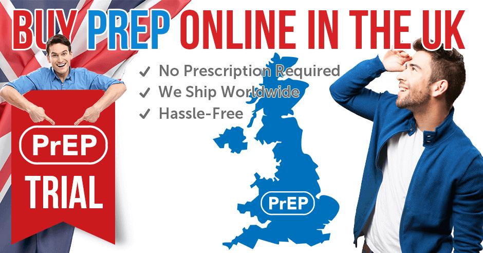 Order PrEP tabs in the UK