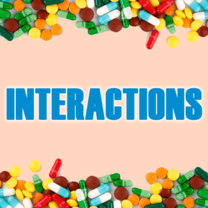 Interactions of medication